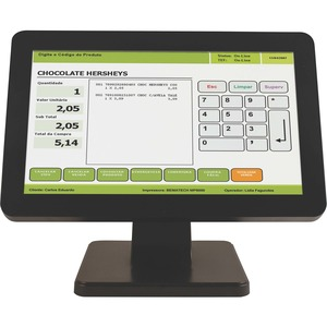 "Bematech Touch Monitor-15"" Wide Screen, True-flat, , USB"